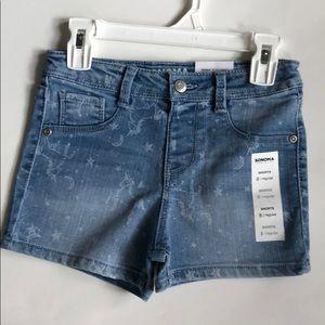 NWT Sonoma Unicorn Shorts- 8 girls
